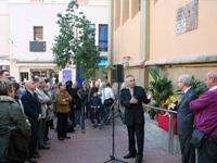 Inauguració del Racó de Sant Galderic
