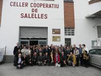 Visita a Salelles